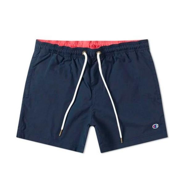 Champion Reverse Weave Beach Short (Navy/Hot Pink)