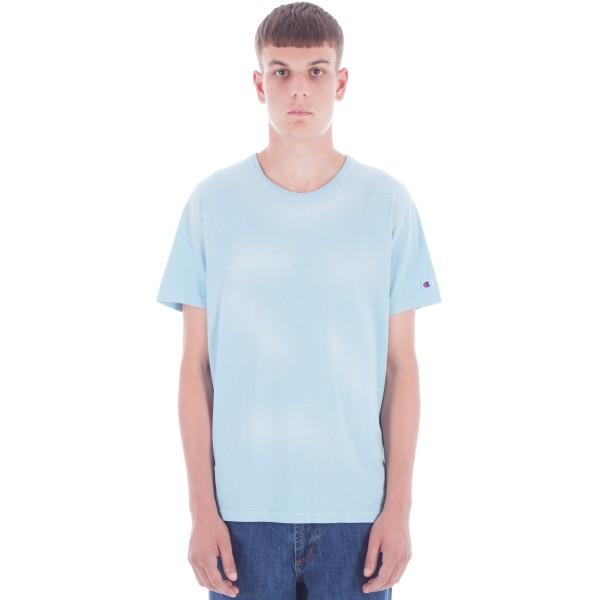 Champion Reverse Weave Crew Neck T-Shirt (Blue)
