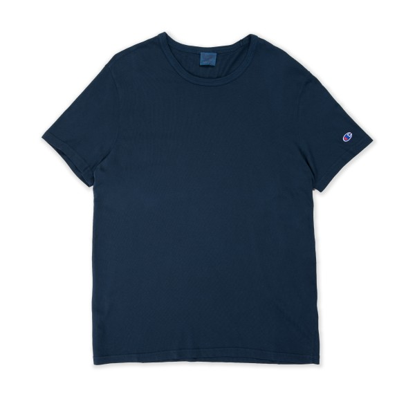 Champion Reverse Weave Crew Neck T-Shirt (Navy)