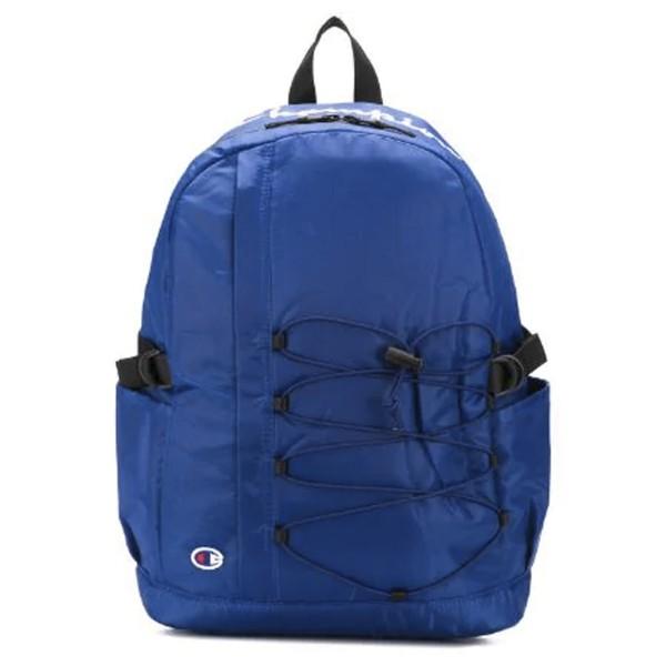 Champion Reverse Weave Lace-Up Logo Backpack (Dark Blue)