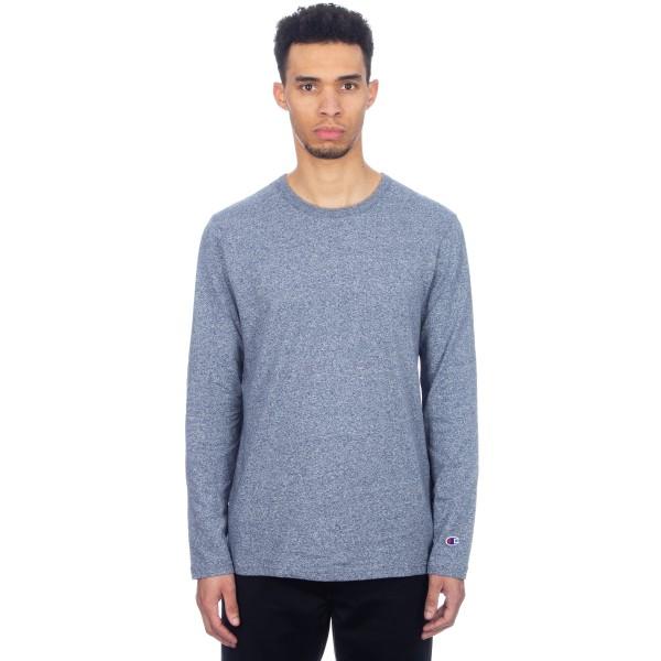 Champion Reverse Weave Long Sleeve T-Shirt (Navy Marl)