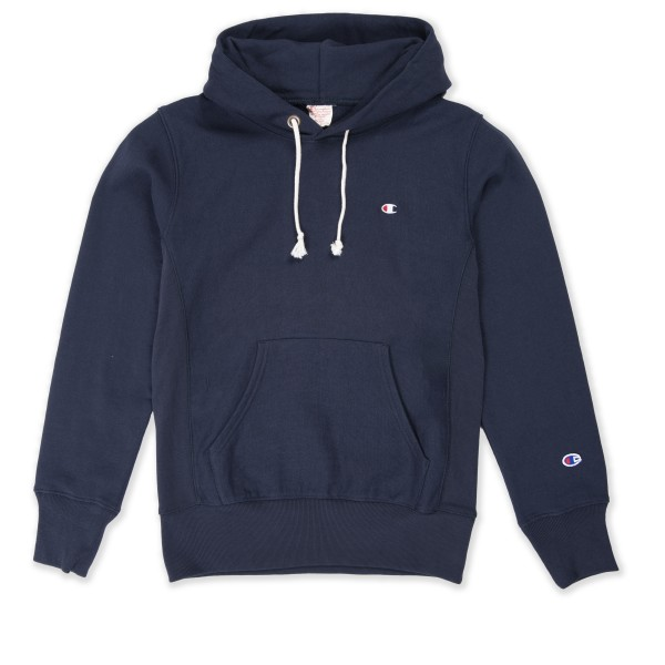 Champion Reverse Weave Pullover Hooded Sweatshirt (Navy)