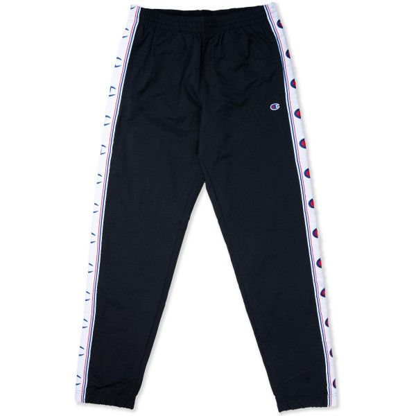 Champion Reverse Weave Taped Elastic Cuff Pants (Black)