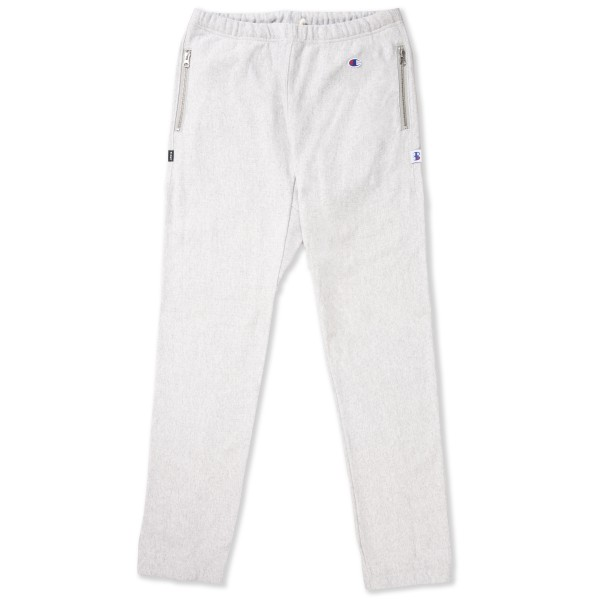 Champion x Beams Zip Elastic Cuff Pant (Light Oxford Grey)