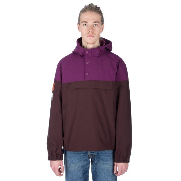 Champion x Wood Wood Niko Hooded Jacket (Fudge)