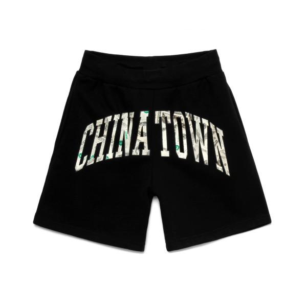 Chinatown Market x Smiley Money Arc Sweat Shorts 'Money Capsule' (Black)