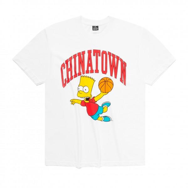 Chinatown Market x The Simpsons Air Bart Arc T-Shirt (White)