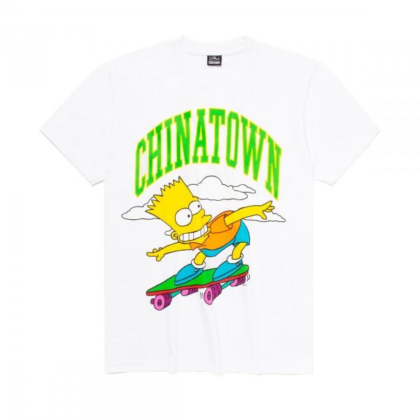 Chinatown Market x The Simpsons Cowabunga Arc T-Shirt (White)