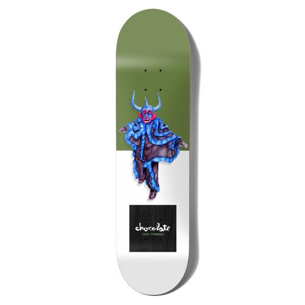 "Chocolate Jesus Fernandez Carnivale Skateboard Deck 8.25"""