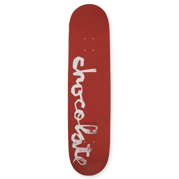Chocolate Kenny Anderson Original Chunk W40 V2 Skateboard Deck 8.0""