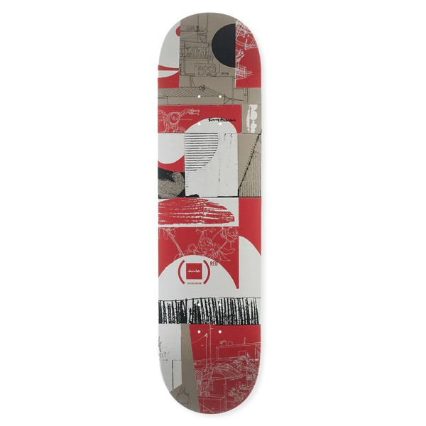 """Chocolate Kenny Anderson (RED) W41 Skateboard Deck 8.0"""""""