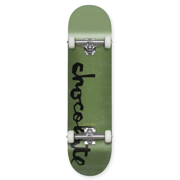 "Chocolate Original Chunk W40 V2 Raven Tershy Complete Skateboard 8.125"""