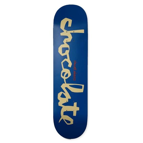 "Chocolate Vincent Alvarez Original Chunk W41 Skateboard Deck 7.75"""