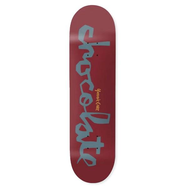"Chocolate Yonnie Cruz Original Chunk W41 Skateboard Deck 8.1875"""