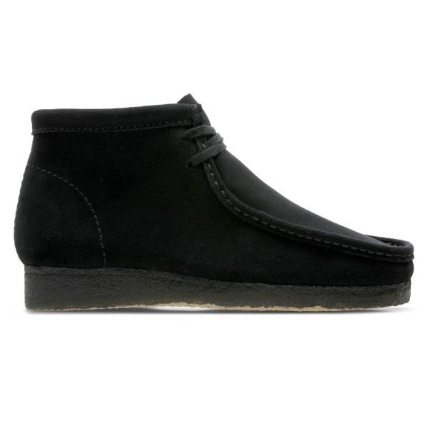 Clarks Originals Wallabee Boot (Black Suede)