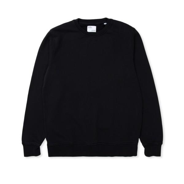Colorful Standard Classic Organic Crew Neck Sweatshirt (Deep Black)