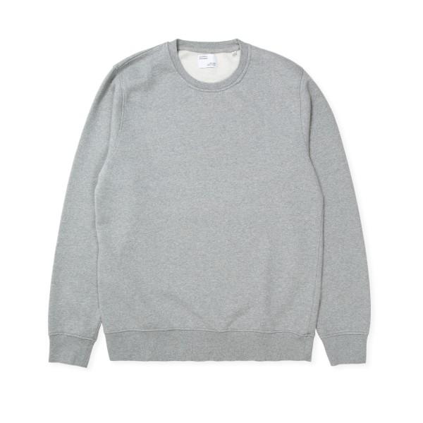 Colorful Standard Classic Organic Crew Neck Sweatshirt (Heather Grey)