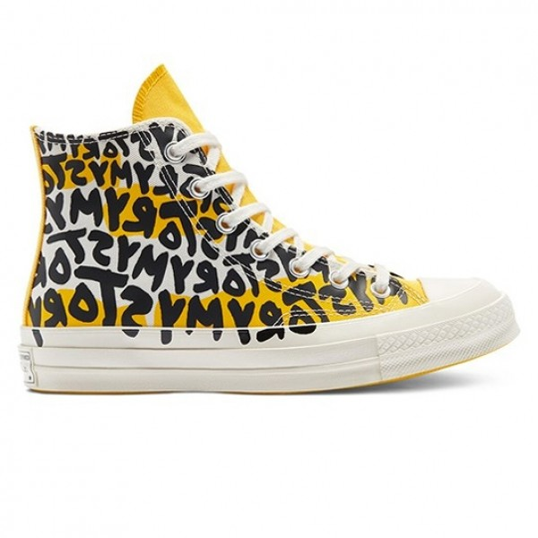 Converse Chuck Taylor All Star 70 Hi 'My Story' (Egret/Amarillo/Black)