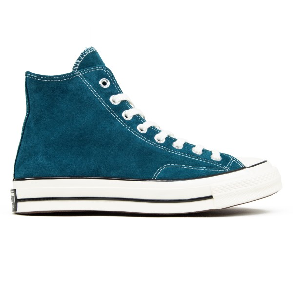 Converse Chuck Taylor All Star 70 Hi 'Suede' (Midnight Turquoise/Egret/Egret)