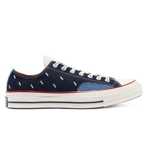 Converse Chuck Taylor All Star 70 Ox 'Indigo Boro' (Midnight Navy/Egret/Garnet)