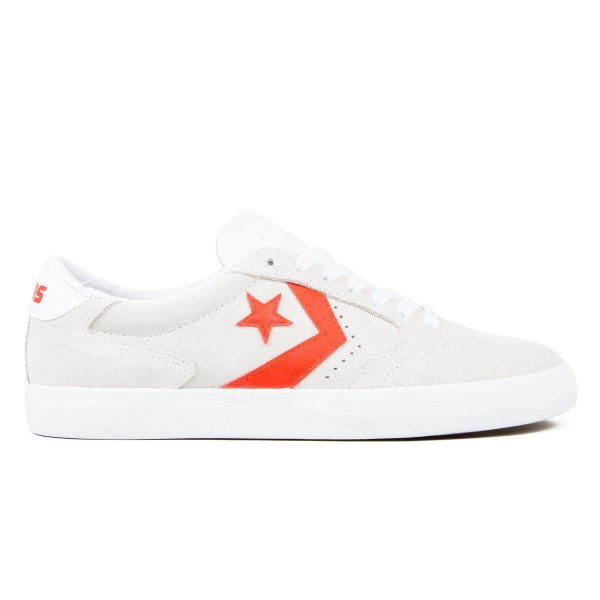Converse Cons Checkpoint Pro Ox (White/Habanero Red/White)