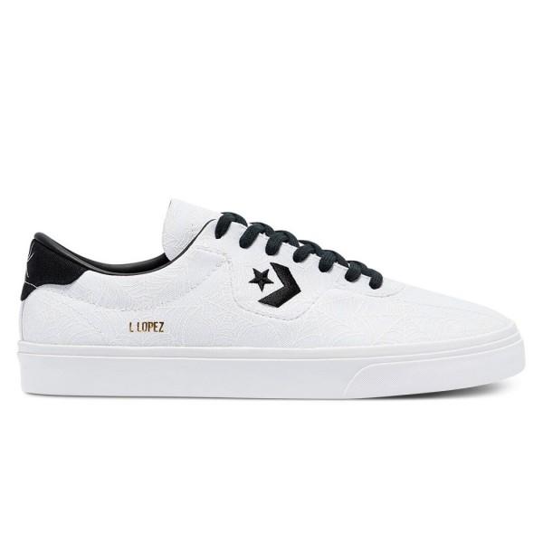 Converse Cons Louie Lopez Pro Ox 'White Widow' (White/Black/University Red)