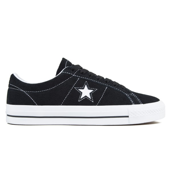 Converse Cons One Star Pro OX (Black/White/White)