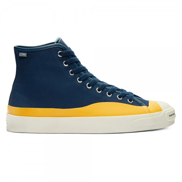Converse Cons x POP Trading Jack Purcell Pro High (Navy/Citrus/Egret)