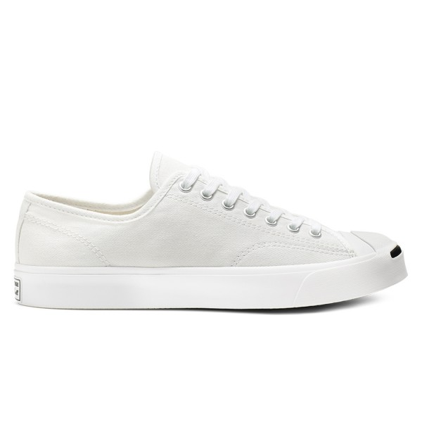 Converse Jack Purcell Ox '1st in Class' (White/White/Black)