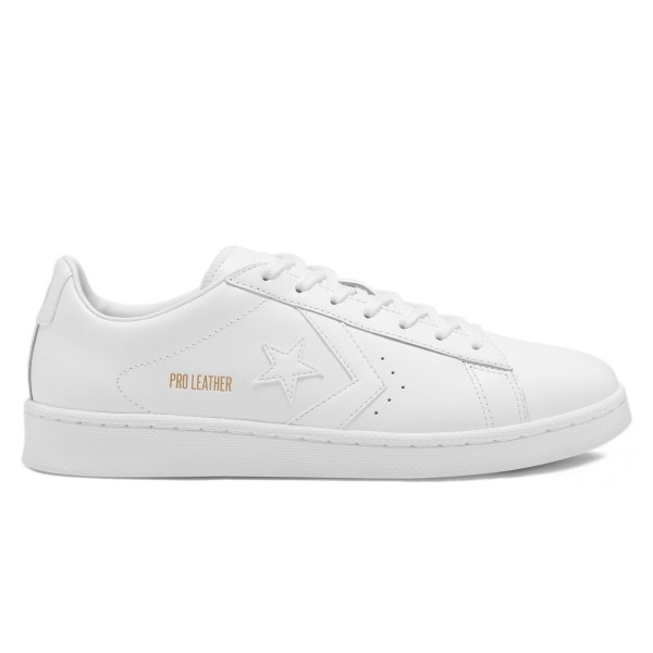 Converse Pro Leather Ox Colourblock (White/White/White)