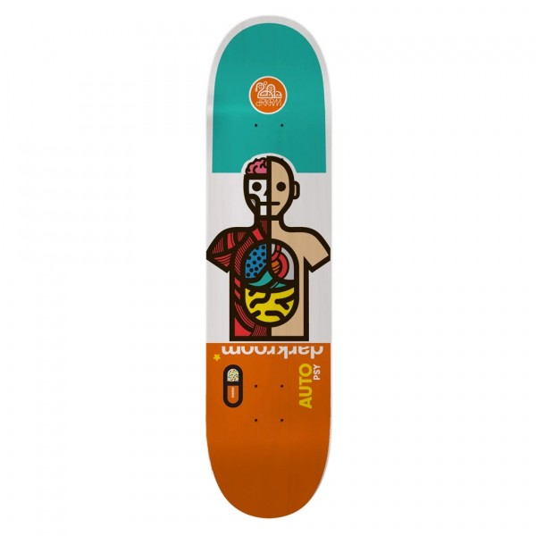 "Darkroom Autopsy Skateboard Deck 8.75"""