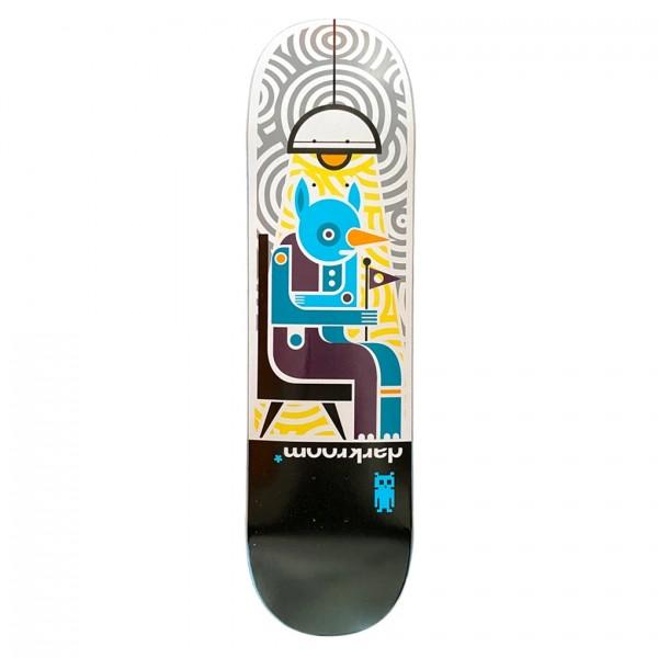 "Darkroom Insomniac Skateboard Deck 8.375"""