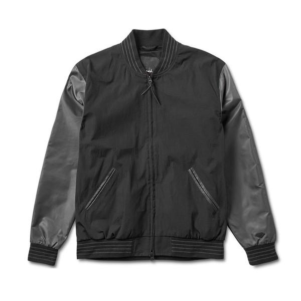 Diamond Supply Co. Black Facet Stadium Jacket (Black)