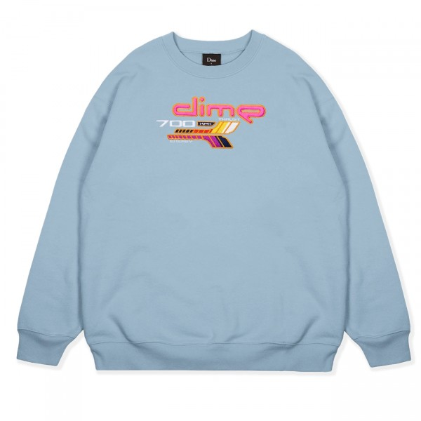 Dime 700 Crew Neck Sweatshirt (Powder Blue)