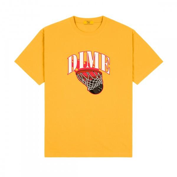 Dime Basketbowl T-Shirt (Dark Yellow)