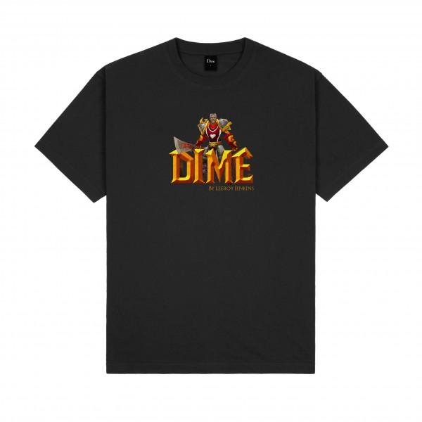 Dime by Leeroy Jenkins T-Shirt (Black)