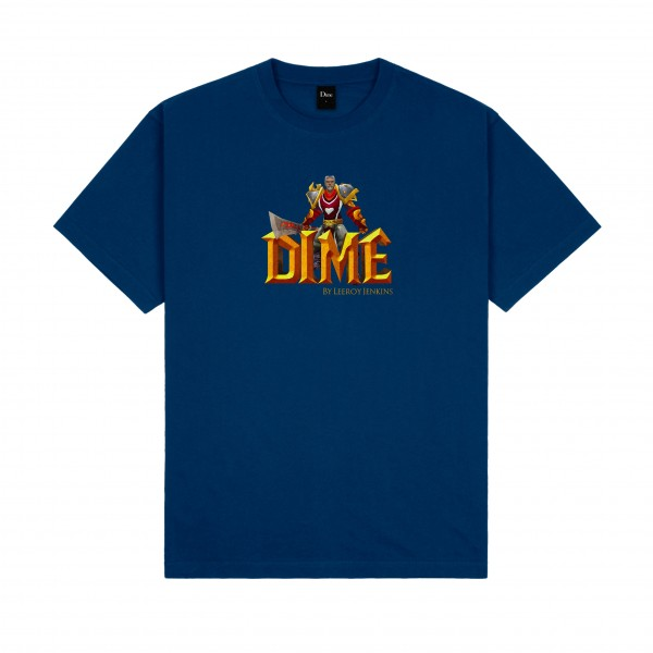 Dime by Leeroy Jenkins T-Shirt (Navy)