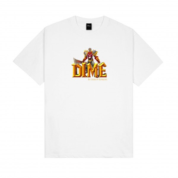 Dime by Leeroy Jenkins T-Shirt (White)