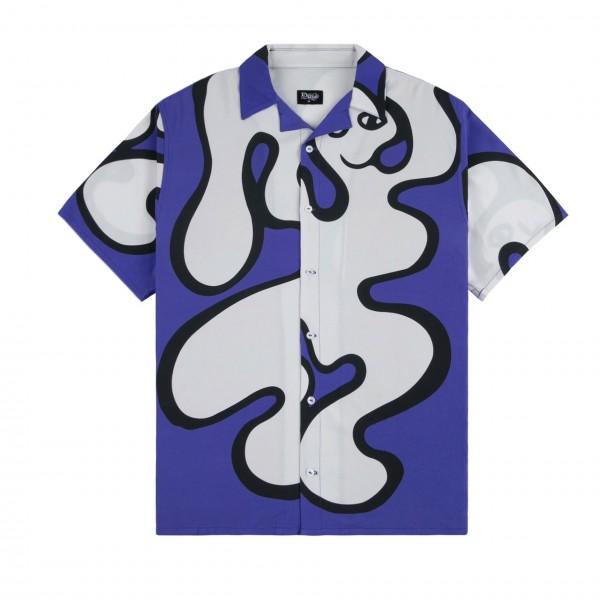 Dime Chilling Rayon Shirt (Blue)