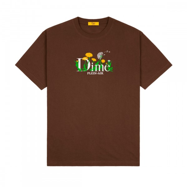 Dime Classic Allergies T-Shirt (Stray Brown)