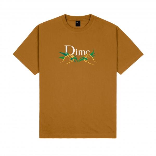 Dime Classic Grass T-Shirt (Coffee)