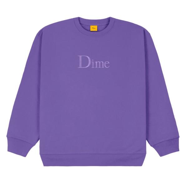 Dime Classic Logo Crew Neck Sweatshirt (Iris)