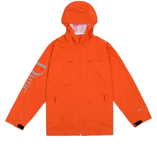 Dime Classic Logo Shell Jacket (Orange)