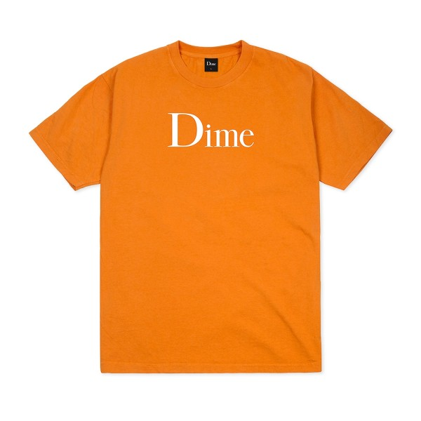 Dime Classic Logo T-Shirt (Bright Orange)