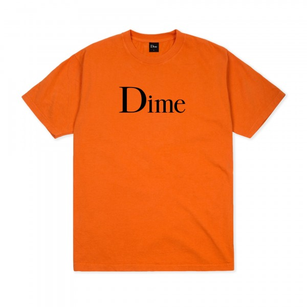 Dime Classic Logo T-Shirt (Burnt Orange)