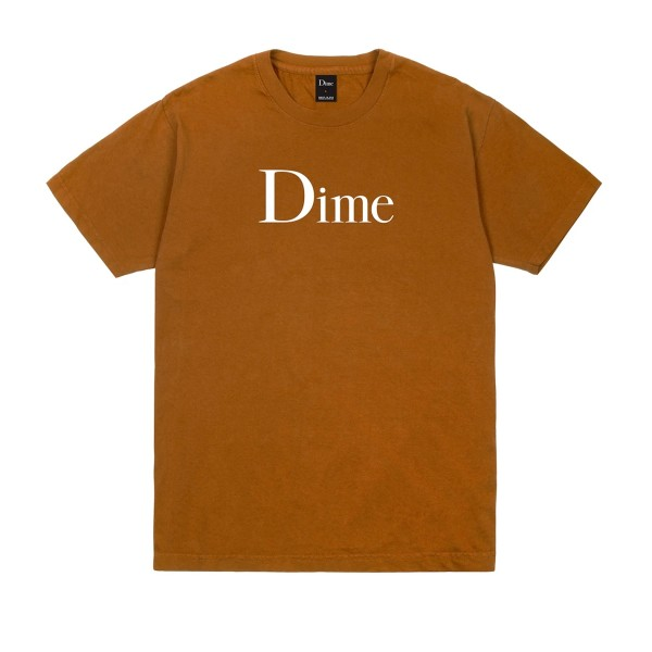 Dime Classic Logo T-Shirt (Coffee)