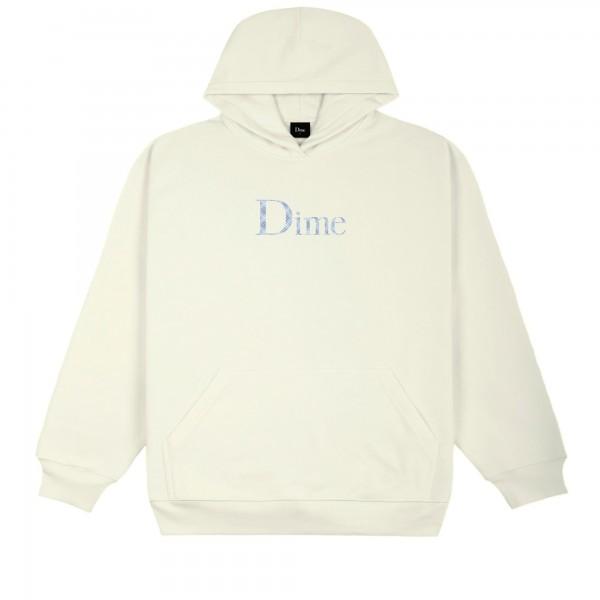 Dime Classic Plaid Pullover Hooded Sweatshirt (Cream)