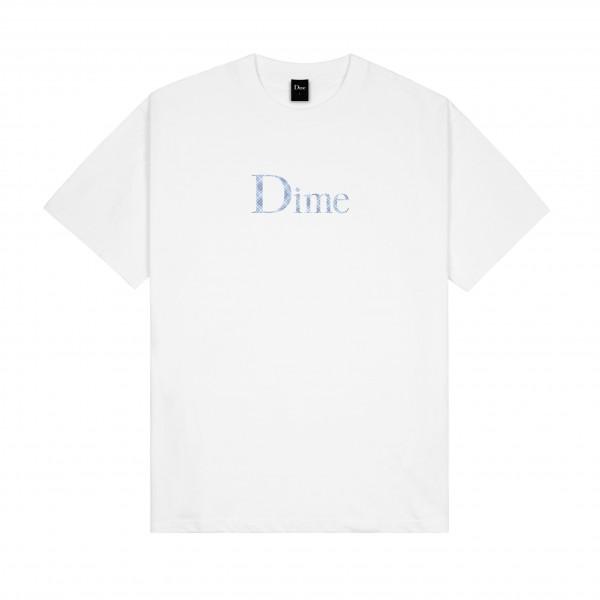 Dime Classic Plaid T-Shirt (White)