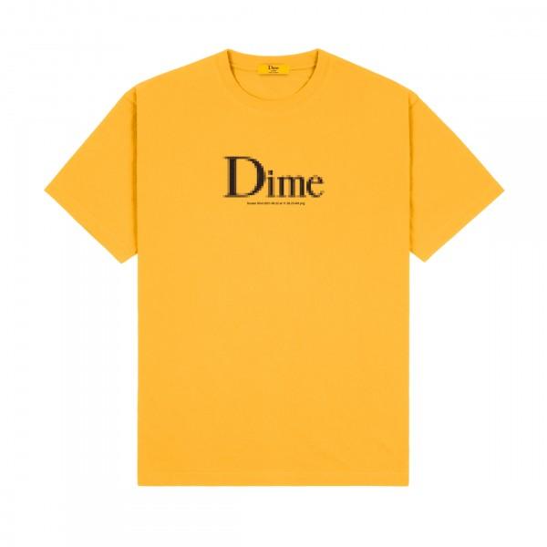 Dime Classic Screenshot T-Shirt (Dark Yellow)