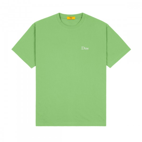 Dime Classic Small Logo Embroidered T-Shirt (Tea)
